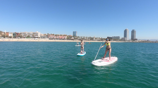 Sup Paddle Surf class Barceloneta for be