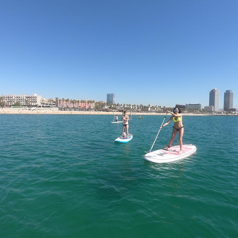 Afterwork Paddle Surf Barceloneta SUP