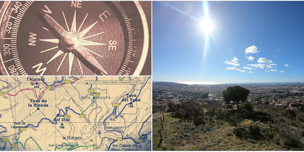 Orienteering basics: class and hiking / curso de orientación y senderismo en Centelles