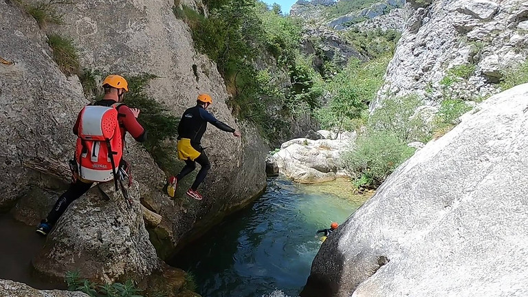 Canyoning Boixols. Good for begginers!