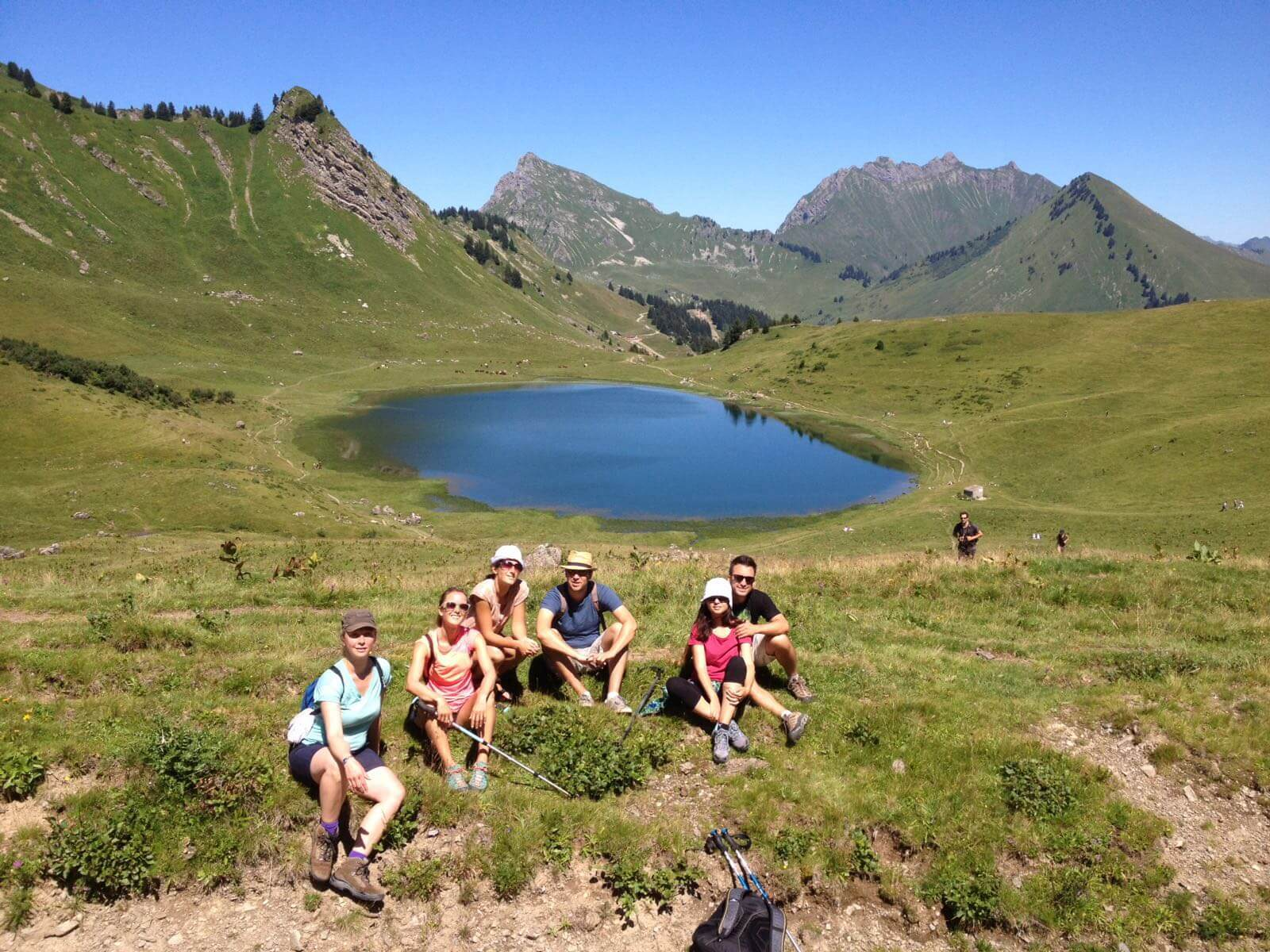 hiking Alpes 13