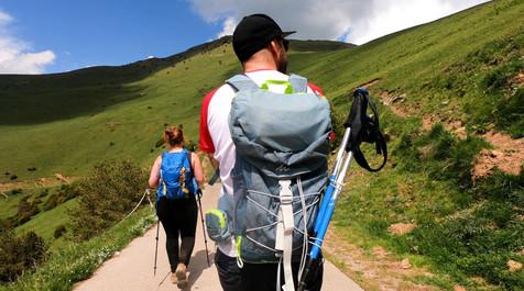 hiking at Taga