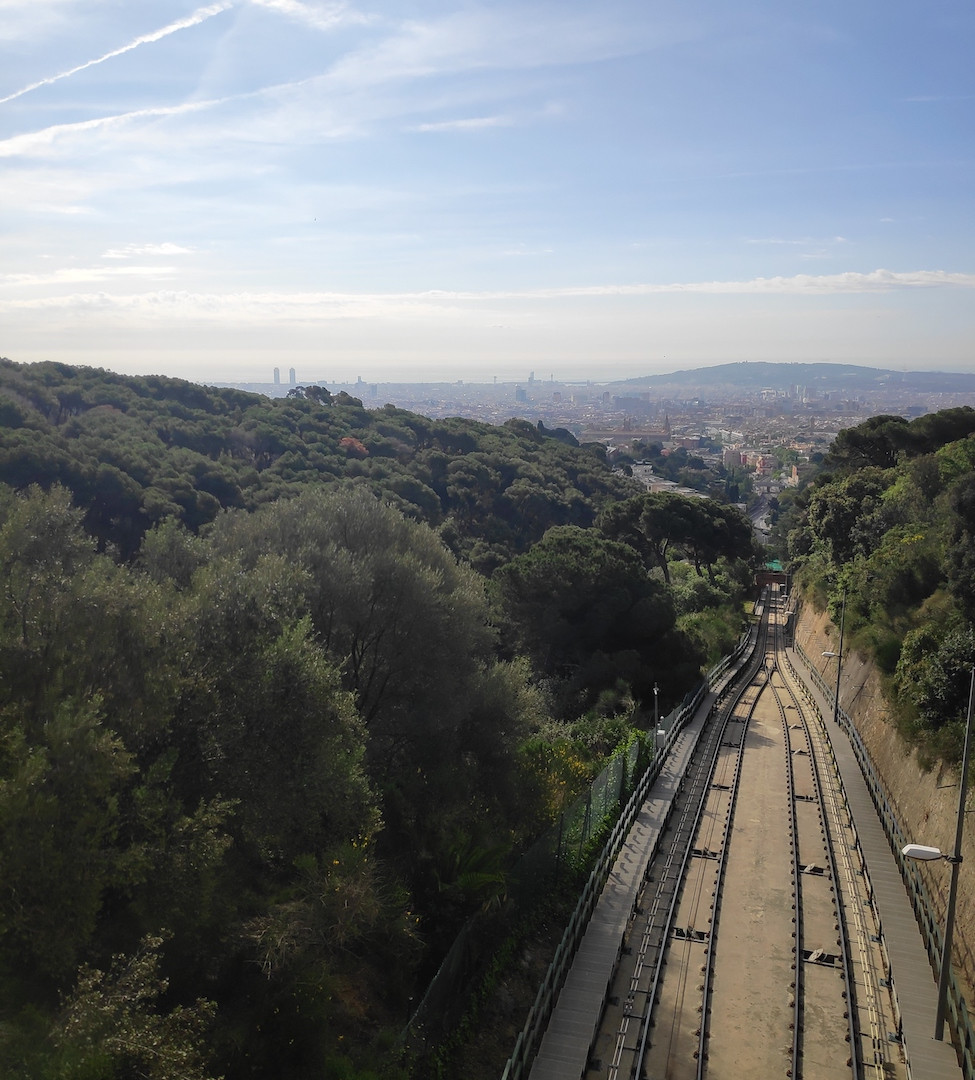 Funicular tracks - Tortilla hike