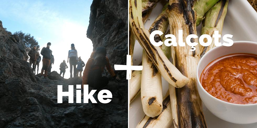 Calçotada hike - senderismo y calçots