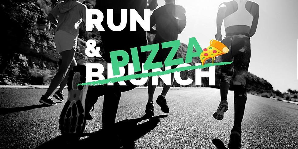 Run and Pizza en Barcelona - correr o senderismo urbano