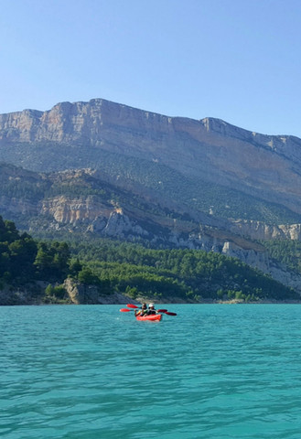 Kayak en Mont-Rebei