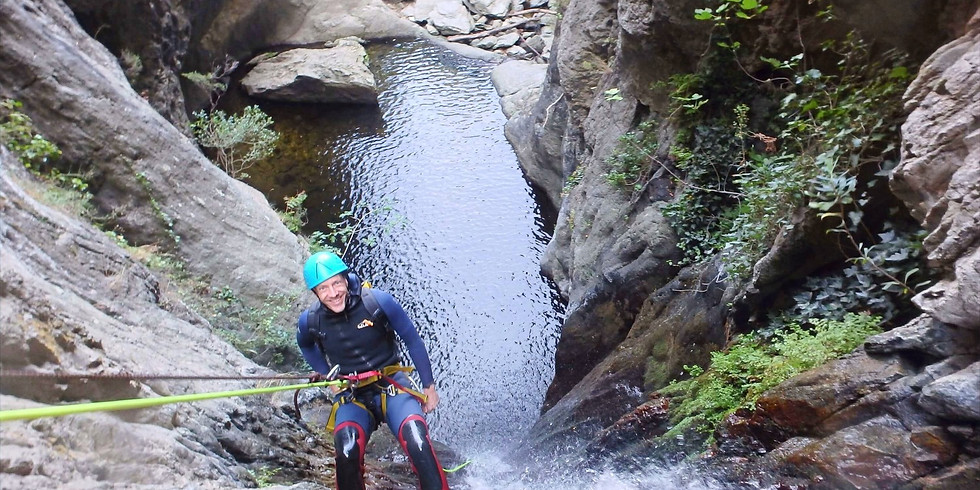 Canyoning in the French Pyrenees. 3 Days