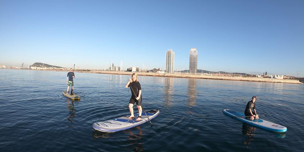 Afterwork Paddle Surf Barcelona SUP