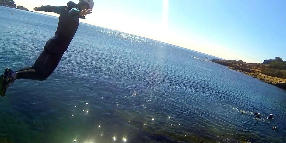 Coasteering Sant Feliu de Guíxols Costa Brava