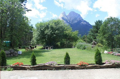 View Pedraforca terrace