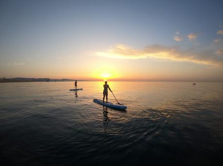 Amanecer Paddle Surf Bcn