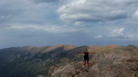 panoramic views from the top of Pedraforca