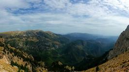 impresionantes vistas desde Pedraforca