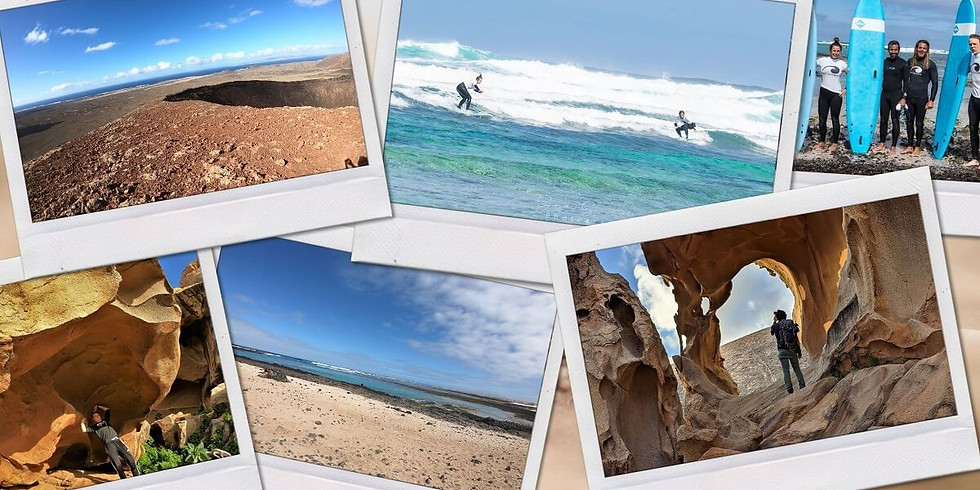 Surf trip and hiking in Fuerteventura - from 4 to 9 nights
