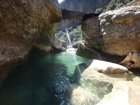 Baranco en Huesca