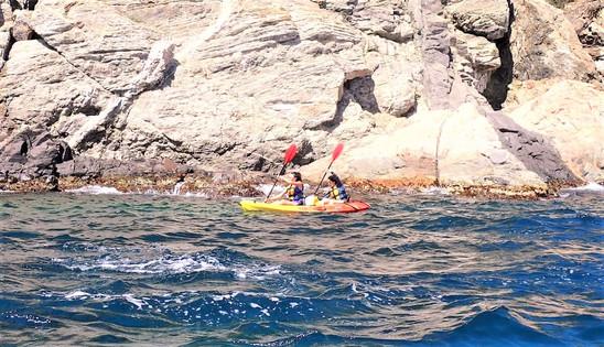 Kayak y camino de ronda Palamos