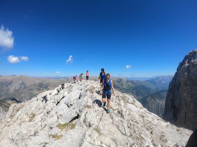 Hike up to Pedraforca