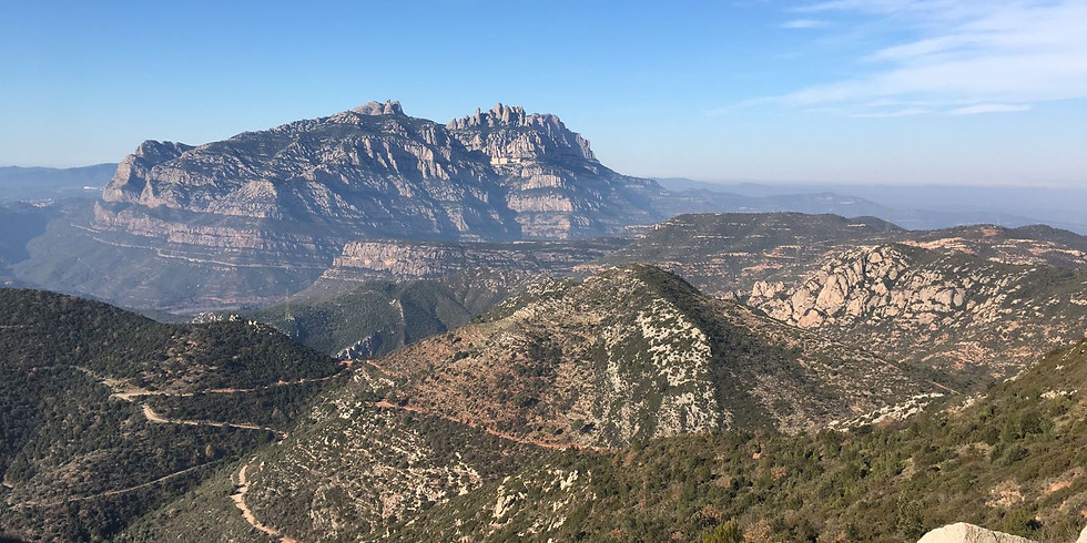 Hike to Puigventós, stunning views of Montserrat