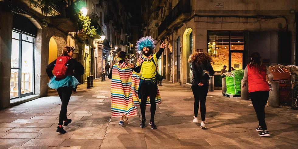 Rancing - Correr y bailar en las calles de Barcelona