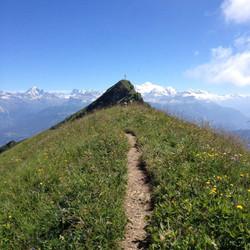hiking Alpes 12