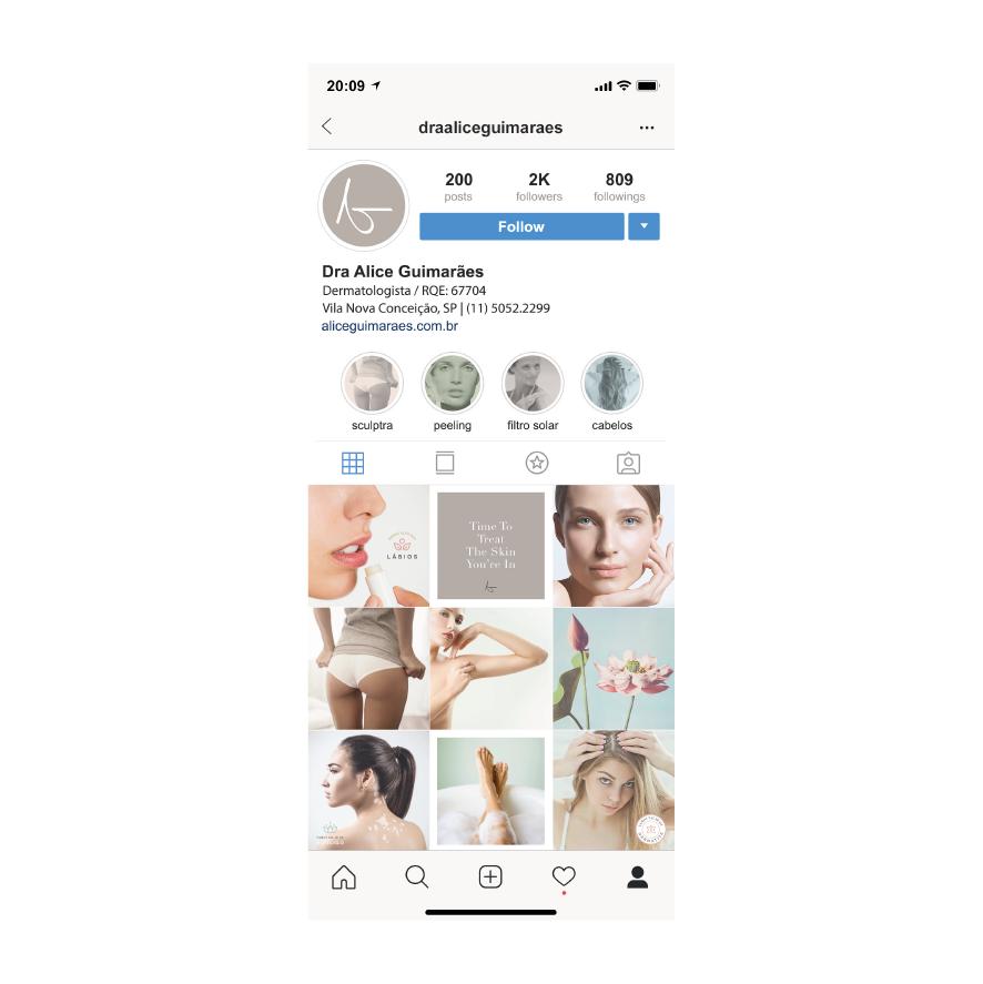 Instagram Feed Alice Guimarães