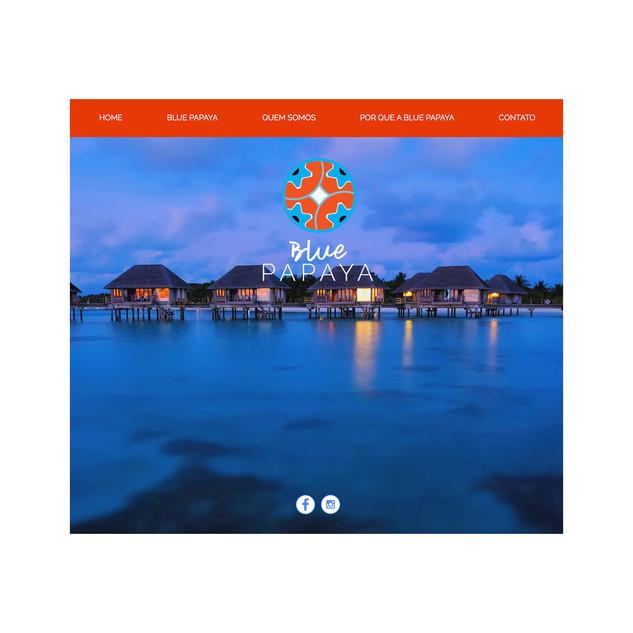 Site Institucional Blue Papaya