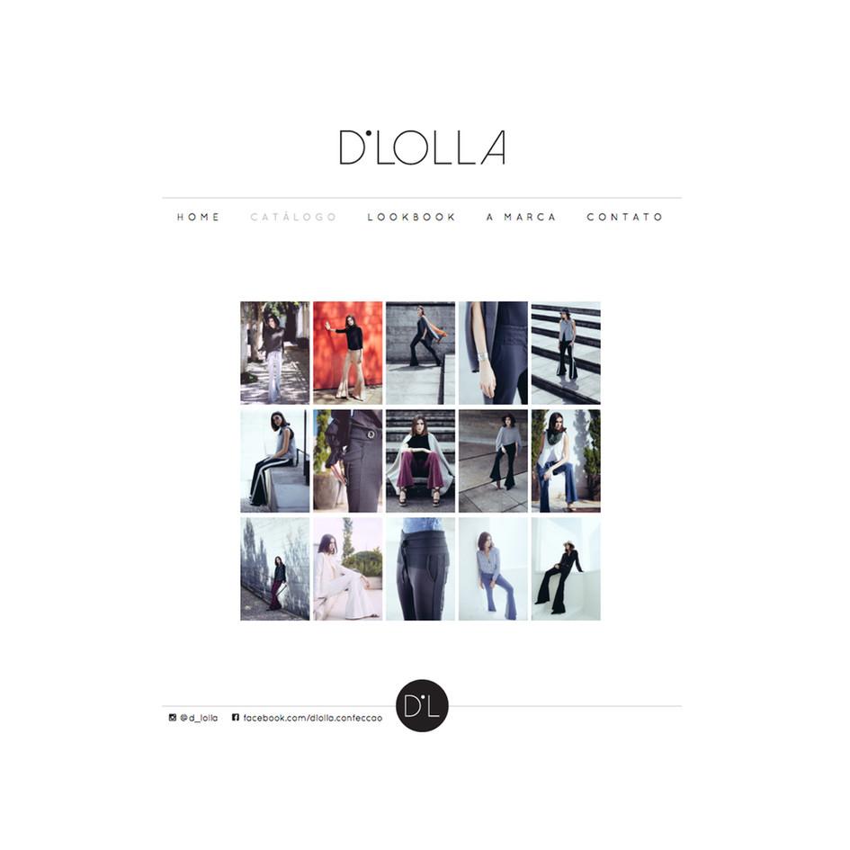 Site Institucional D'Lolla