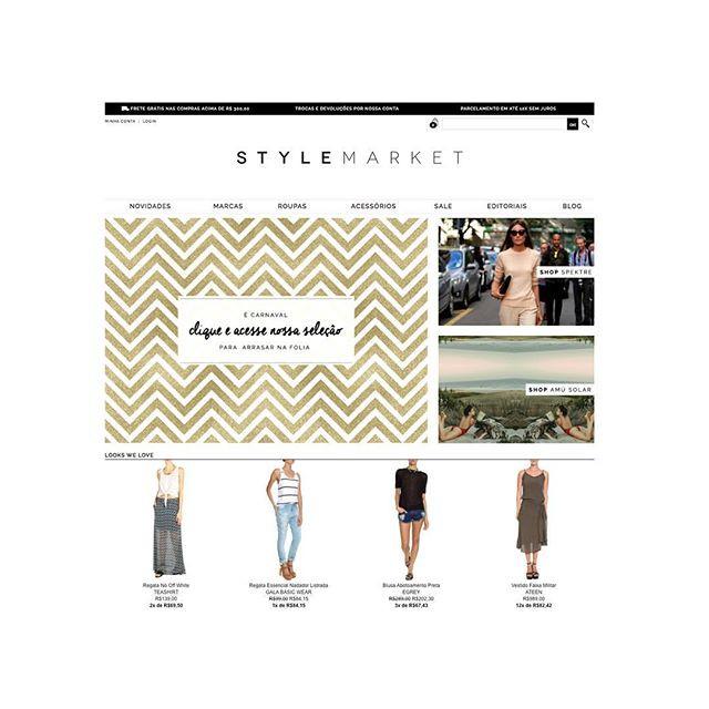 E-commerce Style Market