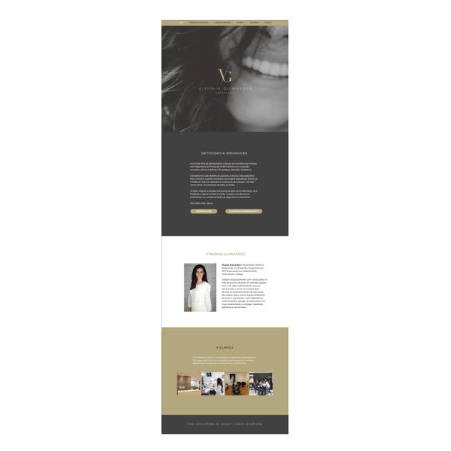 Website Virginia Guimarães