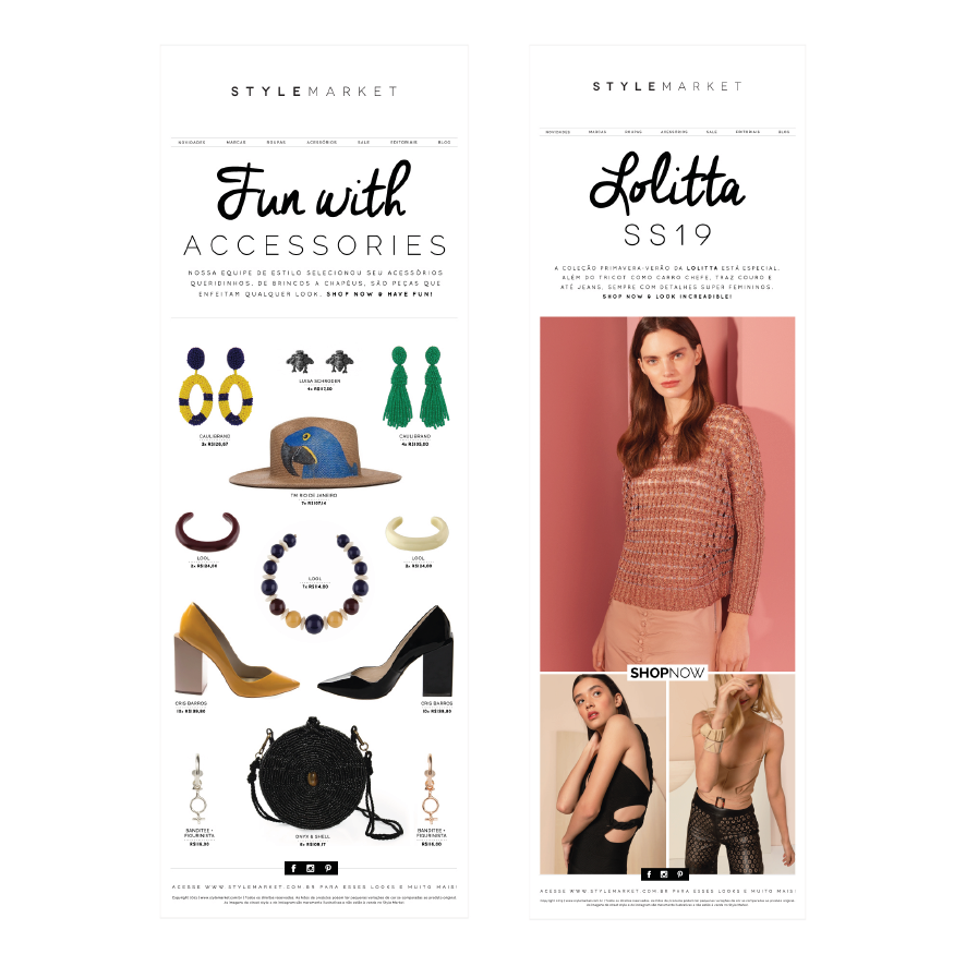 Newsletters Style Market