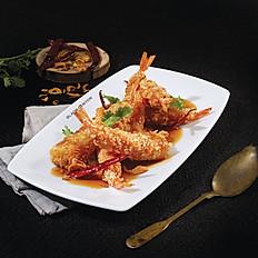 Crispy Prawn with Tamarind Sauce