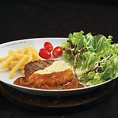 Angus Beef Steak with Cheese