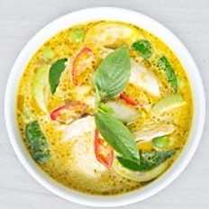 Chicken Green Curry (family)
