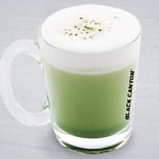 Hot Matcha Green Tea Latte