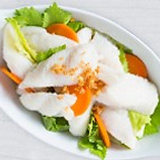 Boiled Fish with Spicy Seafood Sauce