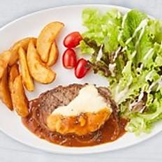 U.S. Prime Beef Steak with Gravy Sauce