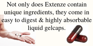 Extenze Ingredients Gelcap review