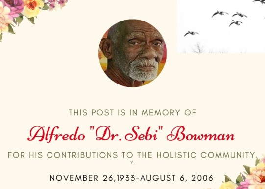 Obituary honoring death of Dr. Sebi