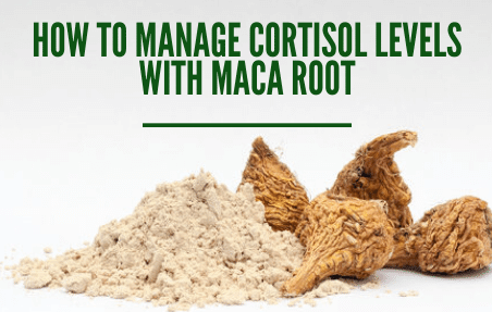 Nature's Cortisol Manager lower cortisol levels with maca powder cover