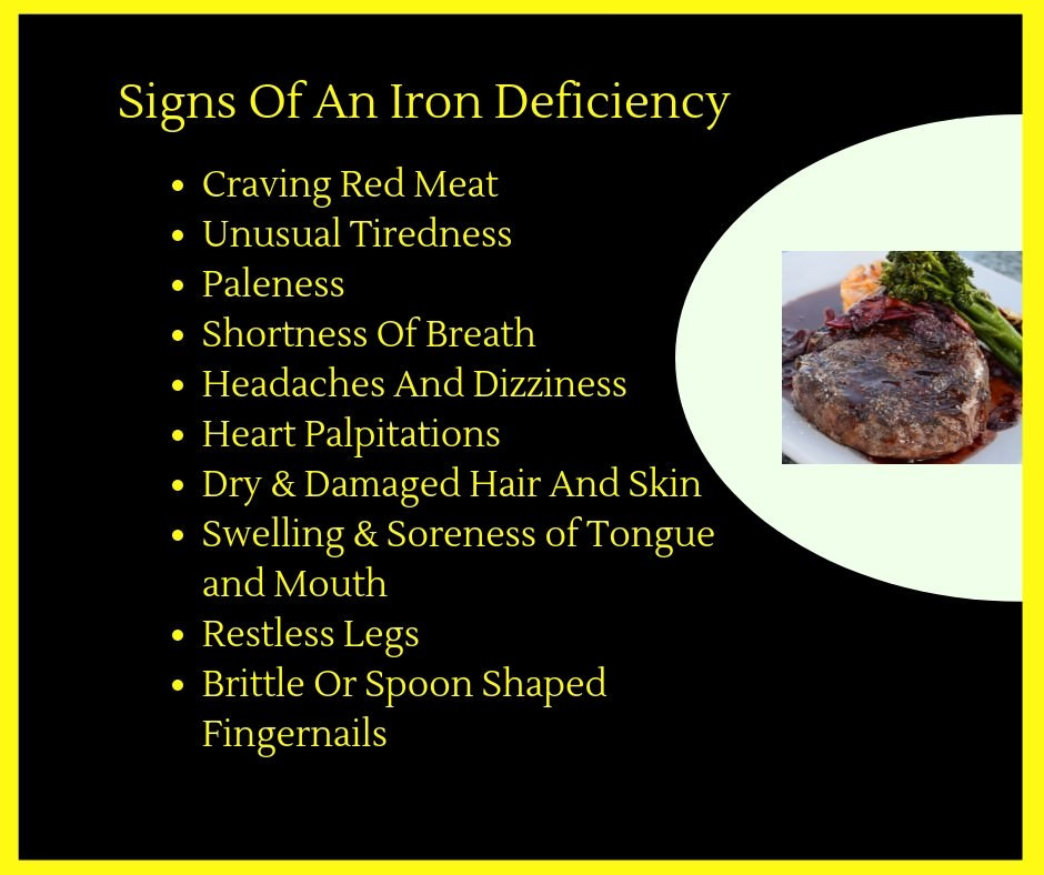 Red Meat Craving Infograph