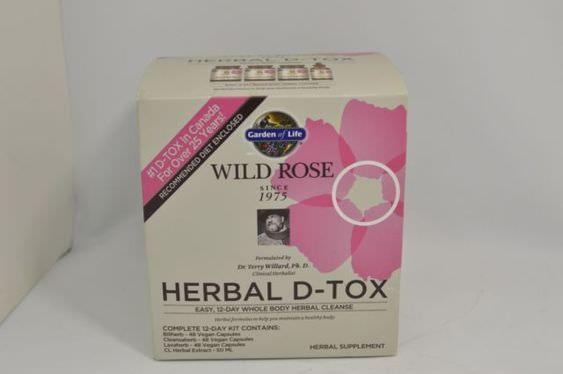 Wild Rose D-Tox Garden Of Life
