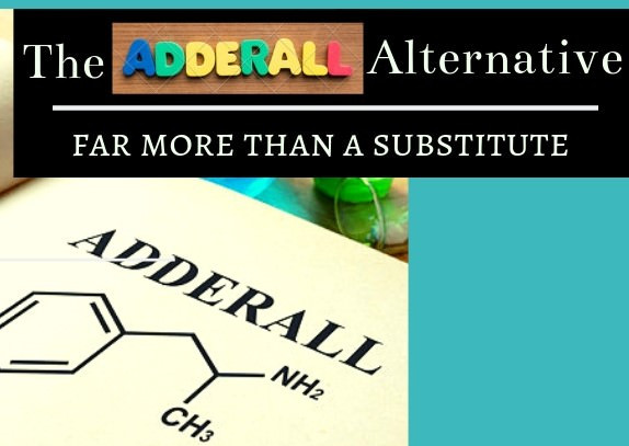 The adderall alternative, far more than a substitute