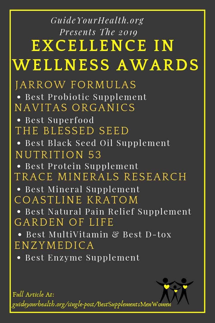 Best Supplement For Women and Men List