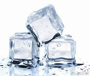 When you crave ice most likely your body needs iron or hydration. Ice can relieve inflammation in your mouth or tongue which is a sign of a common of anemia. Are your iron levels fine? Maybe your body just needs to be properly hydrated. Drink a couple glasses of water.