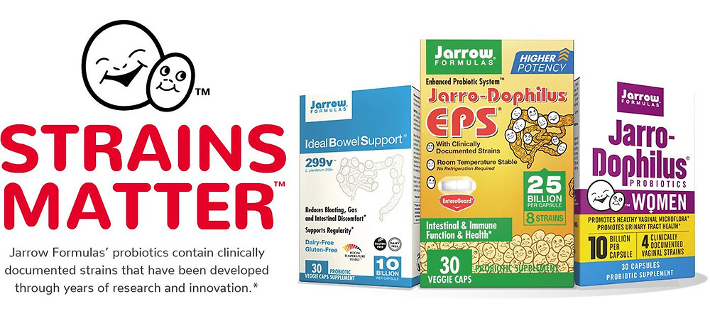 Strains matter when you take probiotics.