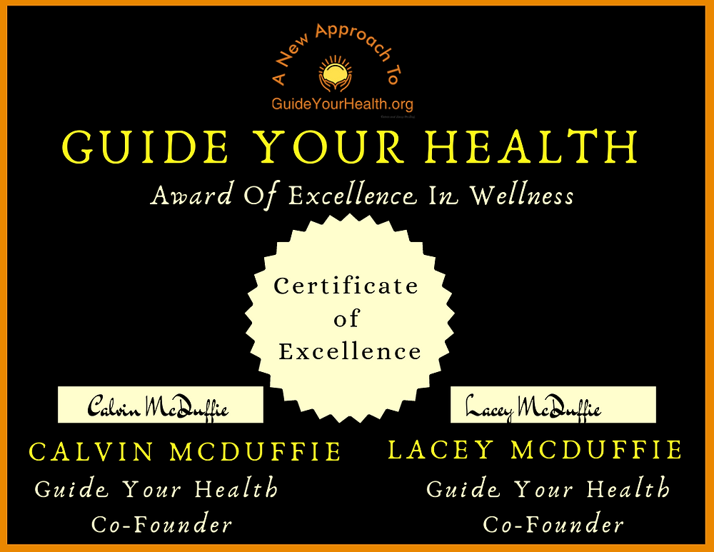 Guide Your Health Award Excellence In Wellness Supplements