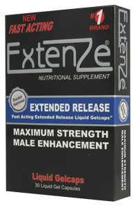 Extenze Maximum Strength liquid gelcaps