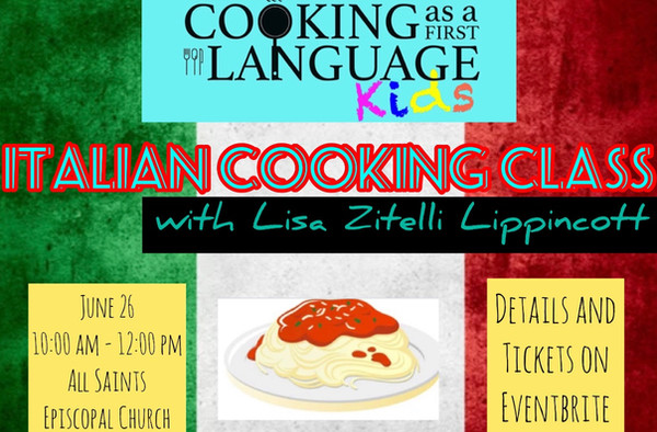 Kids - Italian Cooking Class