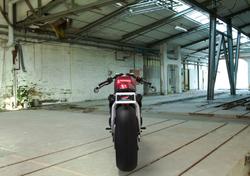 Honda CB750 Cafe Racer, rear view