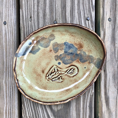 Small Koi Plate #8